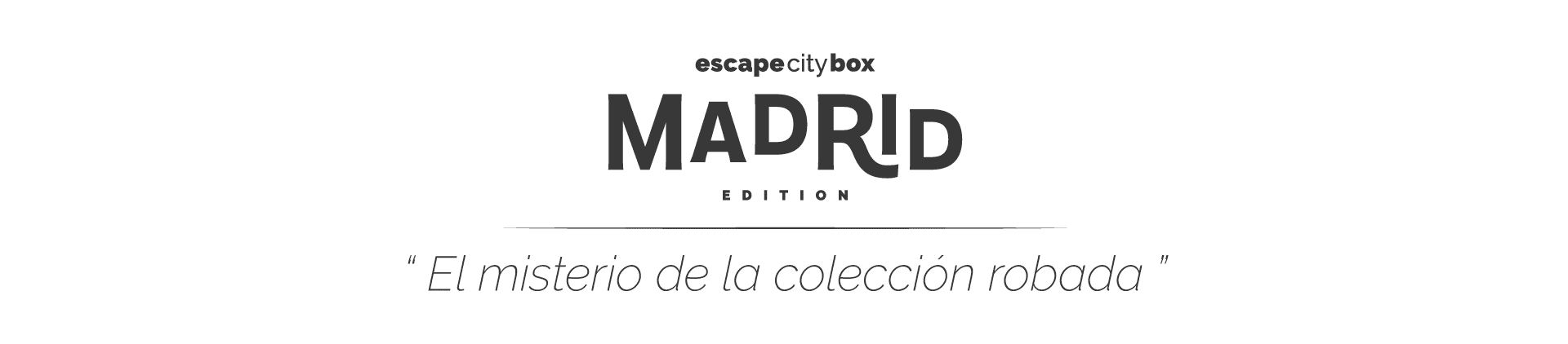 Escape city box Madrid Edition