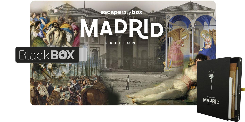 Escape city box Madrid Edition
