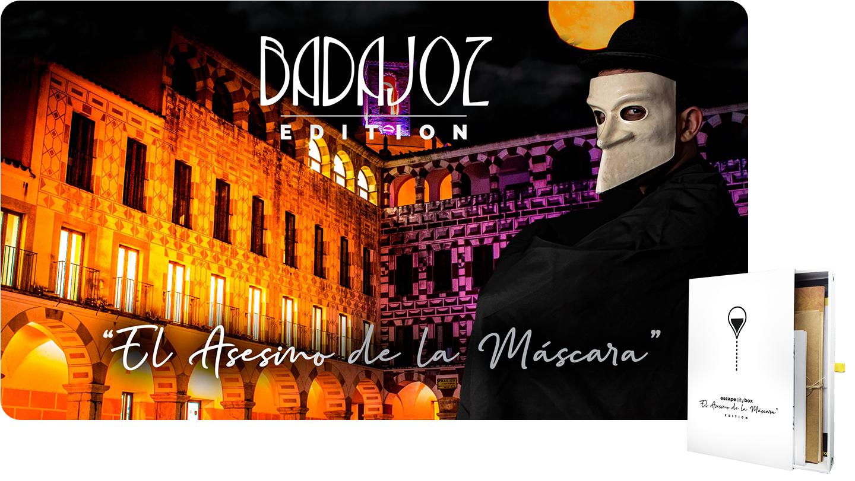El asesino de la máscara Badajoz