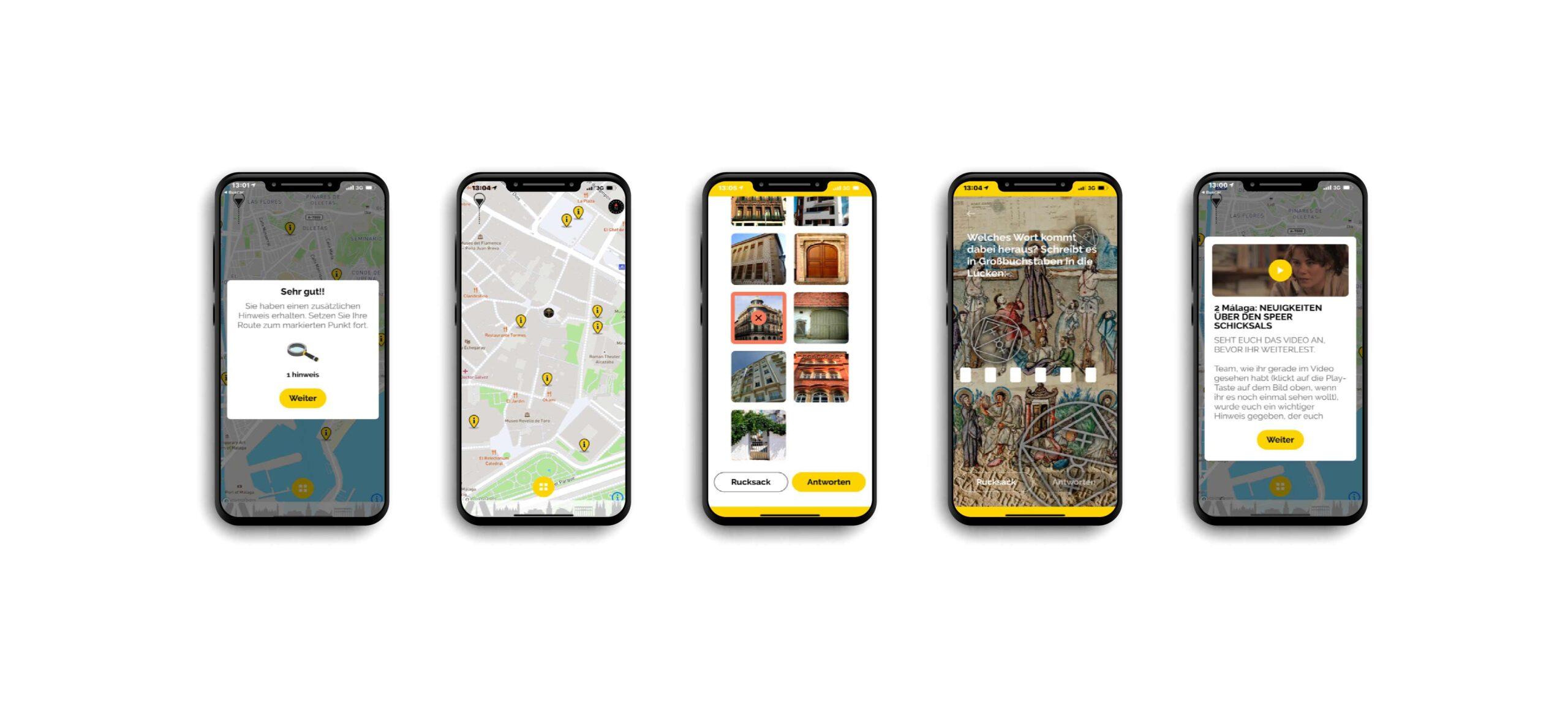 Aplicación móvil para un escape city